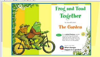 Reading street Unit 3 week 4  Frog and Toad