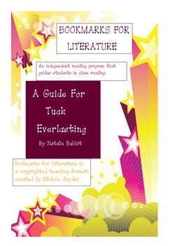 Reading system for Tuck Everlasting
