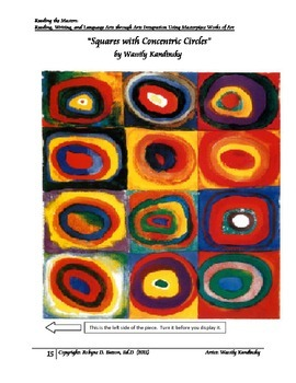 Reading the Masters with Wassily Kandinsky (Teacher/Studen