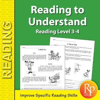 Reading to Understand: Specific Reading Skills Activities