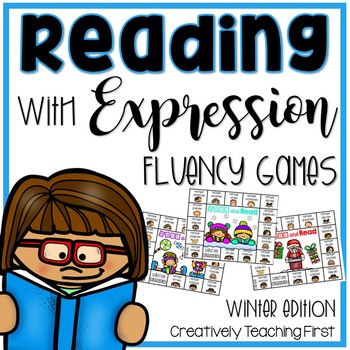 Reading with Expression {A Fluency Game} Winter Edition