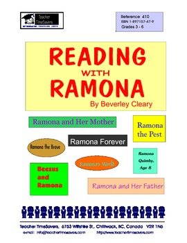 Reading with Ramona    (Novels by Beverley Cleary)    for