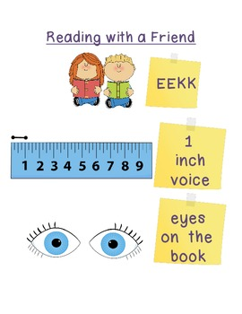 Reading with a Friend Poster