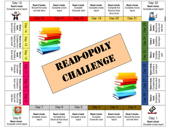 Readopoly Reading Challenge