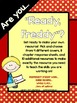 Ready Freddy:  A Reading Response Resource for ANY Ready F