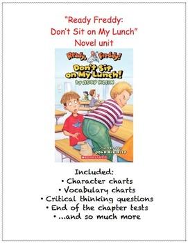 Ready Freddy: Don't Sit On My Lunch novel unit