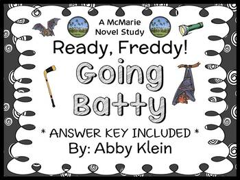 Ready, Freddy! Going Batty (Abby Klein) Novel Study / Read