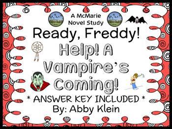 Ready, Freddy! Help! A Vampire's Coming! (Klein) Novel Stu