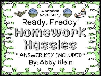 Ready, Freddy! Homework Hassles (Abby Klein) Novel Study /