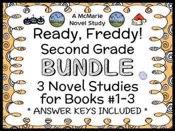 Ready, Freddy! Second Grade BUNDLE (Abby Klein) 3 Novel St