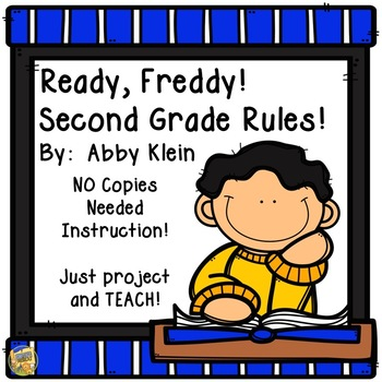 Ready Freddy Second Grade Rules!  Reading Comprehension -