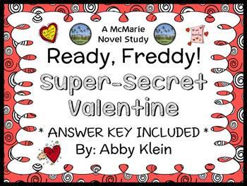 Ready, Freddy! Super-Secret Valentine (Abby Klein) Novel S