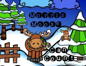 Ready, Print, Go! Morris Moose Can Count
