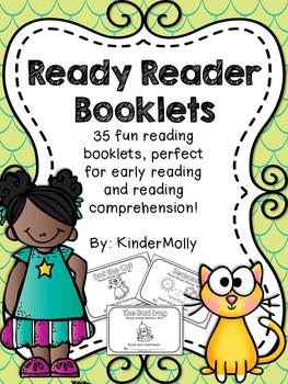 Ready Reader Booklets - Reading Comprehension for emerging