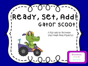 Ready, Set, Add! Gator Scoot