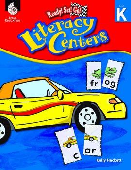 Ready! Set! Go! Literacy Centers: Level K (eBook)