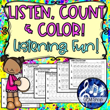 Music: Lessons, I Can Count, Rhythms, Ear Training Games,