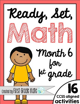First Grade Math Centers for Month 6