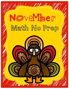 Ready, Set, Print: November Math