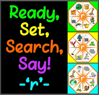 Ready, Set, Search, Say! – 'r' –  articulation / speech th