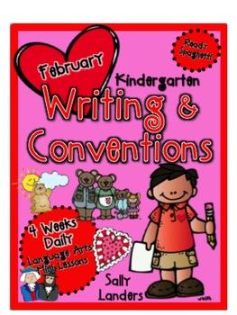 Ready Spaghetti! Kindergarten Writing & Conventions Daily