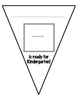 Ready for Kindergarten Banner
