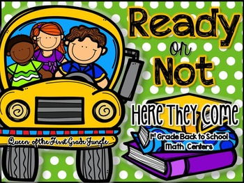 Ready or Not: Here They Come (Back to School Math Centers