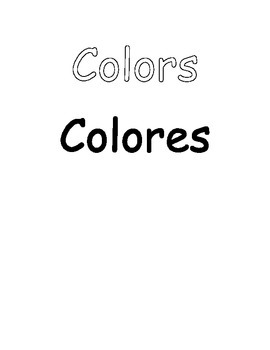 Ready-to-Customize Colors Posters (with Spanish Colores)