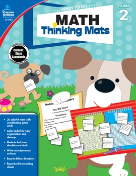 Ready to Go Math Thinking Mats Grade 2 SALE 20% OFF 104900