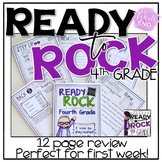 Ready to ROCK Fourth Grade {A multi-use review for BACK-to