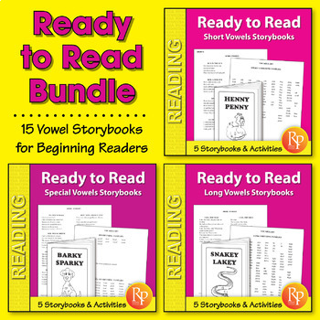 Ready to Read: Vowel Storybooks {Bundle}
