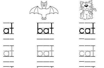 ReadyGEN Kindergarten Phonics Remediation worksheet (At Family)