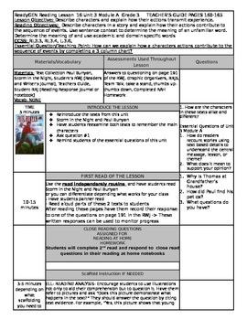 ReadyGEN Unit 3 Module A Lesson 16 Grade 3