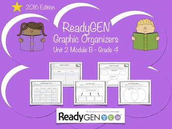 ReadyGen 2016 edition: Unit 2 Module B Graphic Organizers.