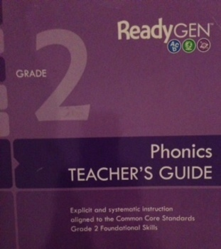 ReadyGen 2nd Grade Phonics SMARTboard Lessons Unit 1 Week 4