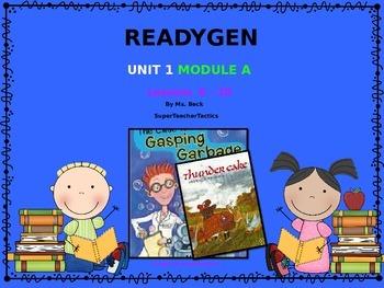 **ReadyGen 3rd Grade Unit 1 PowerPoint, Module A, Lessons 6-10**