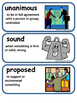 ReadyGen A More Perfect Union Vocabulary Cards 3rd Grade U