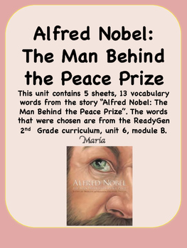 ReadyGen Alfred Nobel: The Man Behind the Peace Prize 2nd