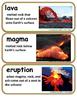 ReadyGen Anatomy of a Volcanic Eruption Vocabulary 4th Gra