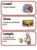 ReadyGen Apple Pie 4th of July Vocabulary Kindergarten Uni