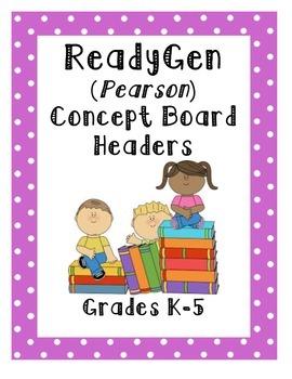 ReadyGen Concept Headers