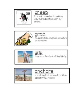 ReadyGen Grade 3 At the Root of It Vocabulary Cards