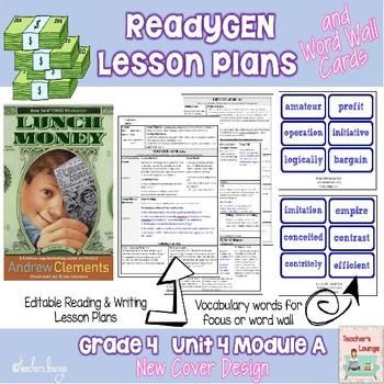 ReadyGen 2014-15 Lesson Plans Unit 4 Module A -Word Wall C