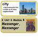ReadyGen Messenger, Messenger Vocabulary Kindergarten Unit