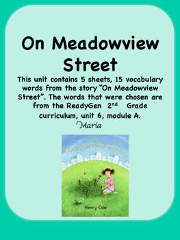 ReadyGen On Meadowview Street Vocabulary 2nd Grade unit 6