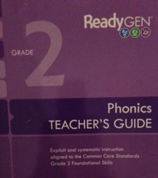 ReadyGen (Ready GEN) 2nd Grade Phonics SMARTboard Lessons