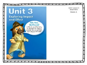 ReadyGen Unit 3 - Module A - Lesson 3 - Sleuth