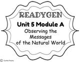 ReadyGen Unit 5 Module A Concept Board