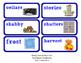 ReadyGen Vocabulary Word Wall Cards Unit 2A- 2016  Kindergarten