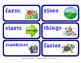 ReadyGen Vocabulary Word Wall Cards Unit 2B- 2016  Kindergarten